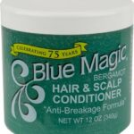 Blue Magic Bergamot Hair & Scalp Cond. (Green)