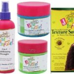 Soft & Beautiful Just For Me Offer (2 in 1 Conditioning Shampoo, and Detangler, Scalp Conditioner and Hairdress, Creme Conditioner, Plus 1 Relaxer/Texturizer Kit)