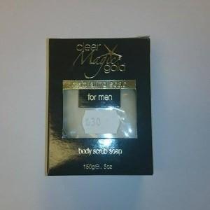 Clear Magic Gold Exfoliating Soap For Men