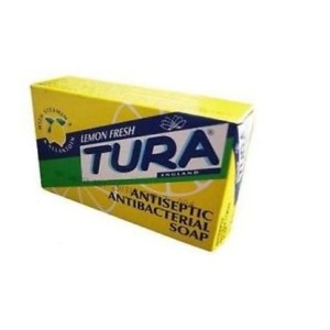 Tura Lemon Fresh Antiseptic Antibacterial Soap