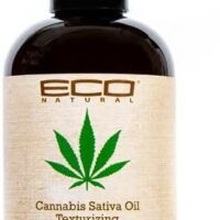 ECO natural cannabis sativa oil texturizing salt spray 8oz