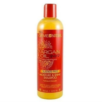 Creme of nature Argan oil sulfate free moisture shampoo