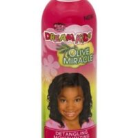 African pride dream kids olive miracle detangling moisturizing shampoo 355ml