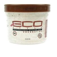 Eco style professional styling gel coconut oil 236ml