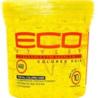Eco style professional styling gel colore hair 473ml