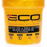 Eco style professional styling gel olive & shea butter black castor oil & Flaxseed 473ml