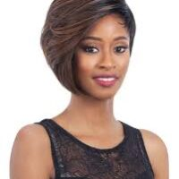 Equal green cap synthetic wig style 017