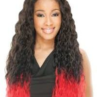 Freetress equal luxury integration invisble part synthetic wig Pride style