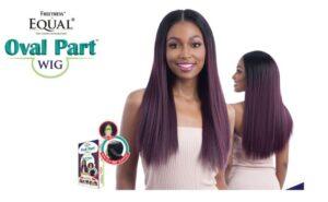 Shake N Go freetress equal oval part wig