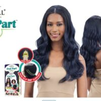 Shake N Go freetress equal oval part wig body wavy style
