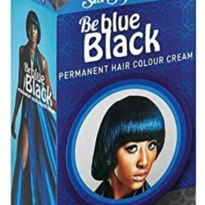 Sta-sof-fro be blue black permanent hair colour