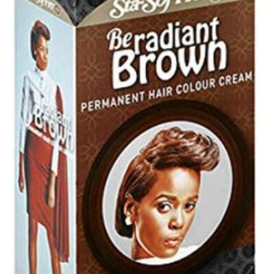 Sta-sof-fro be radiant brown permanent hair colour