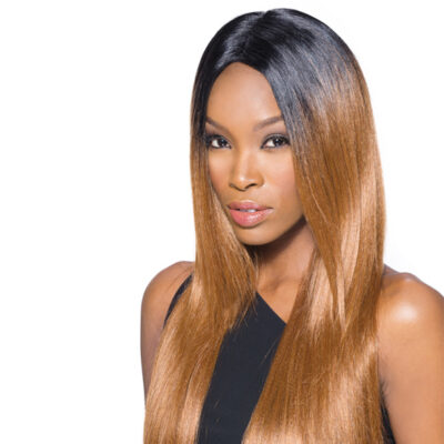 Supreme lace synthetic wig front extension Yaki style