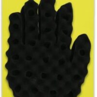 miracle hair twist brush sponge glove