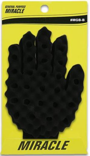 miracle hair twist brush sponge glove