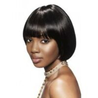Sleek synthetic hair wig Estelle style