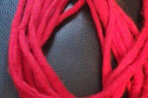 Wool dreadlock extension